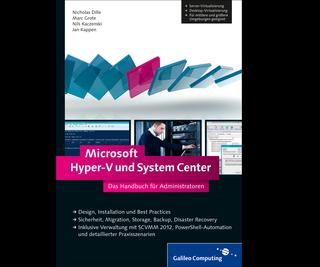 Cover von Microsoft Hyper-V und System Center