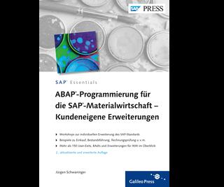 Cover von ABAP-Programmierung für die SAP-Materialwirtschaft – Kundeneigene Erweiterungen