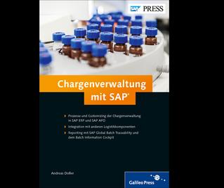 Cover von Chargenverwaltung mit SAP
