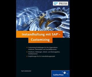 Cover von Instandhaltung mit SAP – Customizing