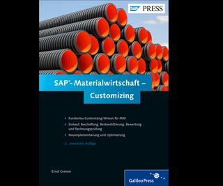 Cover von SAP-Materialwirtschaft – Customizing
