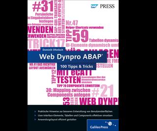 Cover von Web Dynpro ABAP − 100 Tipps & Tricks
