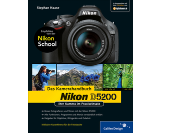Cover von Nikon D5200. Das Kamerahandbuch