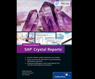 Cover von Praxishandbuch SAP Crystal Reports
