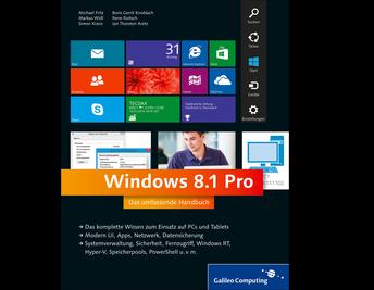 Cover von Windows 8.1 Pro
