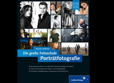 Cover von Porträtfotografie. Die große Fotoschule