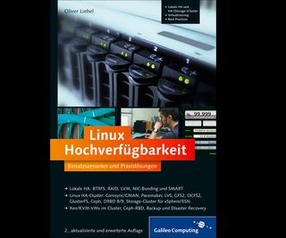 Cover von Linux Hochverfügbarkeit