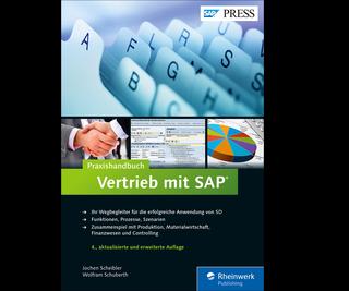 Cover von Praxishandbuch Vertrieb mit SAP