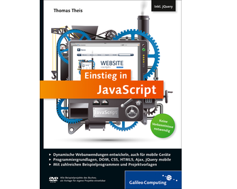 Cover von Einstieg in JavaScript