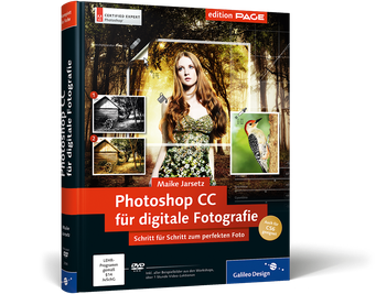 Cover von Photoshop CC für digitale Fotografie