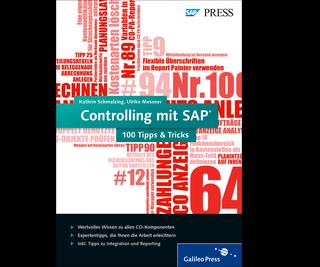 Cover von Controlling mit SAP − 100 Tipps & Tricks