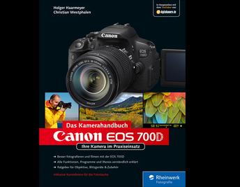 Cover von Canon EOS 700D. Das Kamerahandbuch