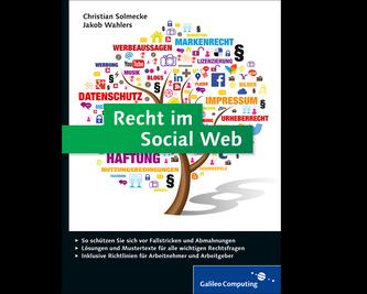 Cover von Recht im Social Web