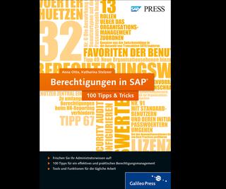 Cover von Berechtigungen in SAP − 100 Tipps & Tricks
