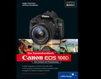 Cover von Canon EOS 100D. Das Kamerahandbuch