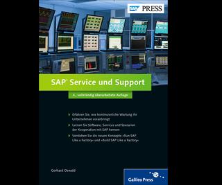 Cover von SAP Service und Support