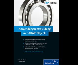 Cover von Anwendungsentwicklung mit ABAP Objects