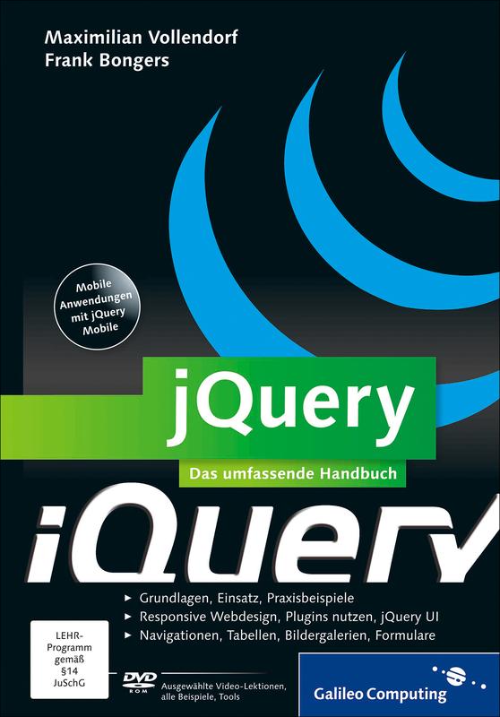 cover von jquery - Jquery Beispiele