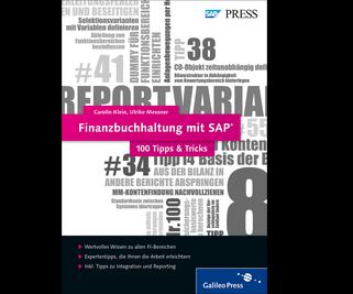 Cover von Finanzbuchhaltung mit SAP − 100 Tipps & Tricks