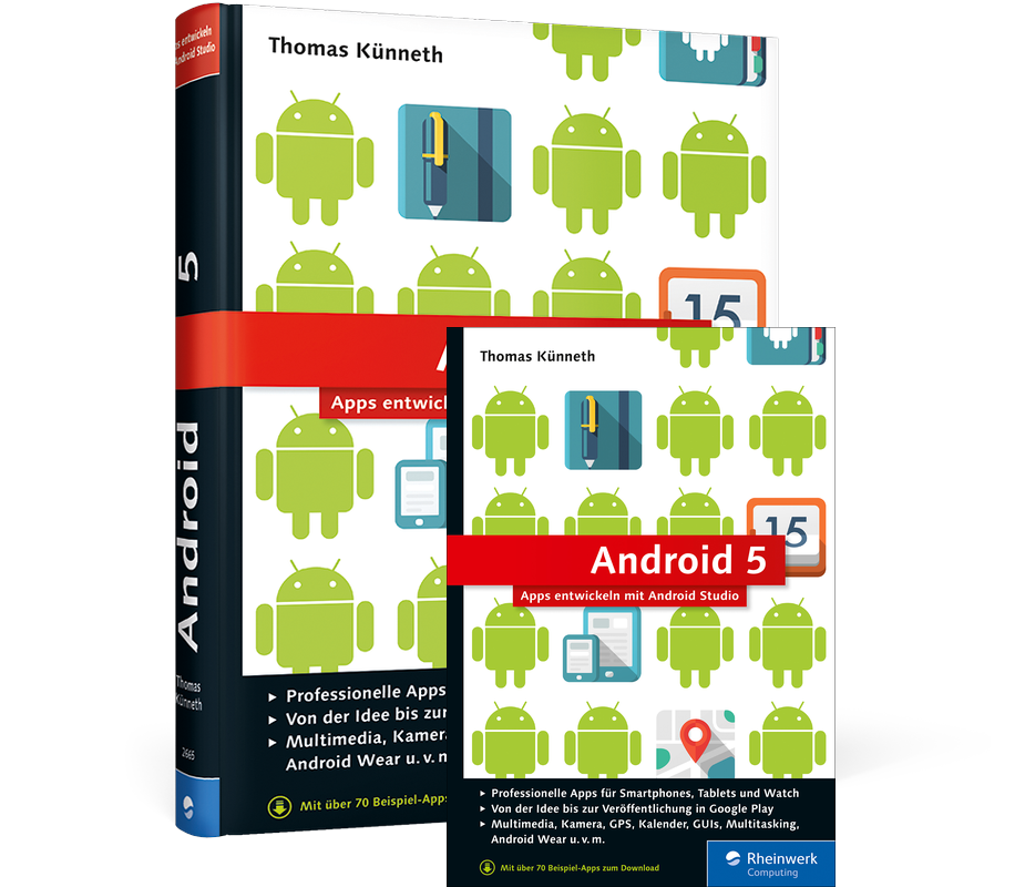 android 5 apps entwickeln mit android studio rheinwerk. Black Bedroom Furniture Sets. Home Design Ideas