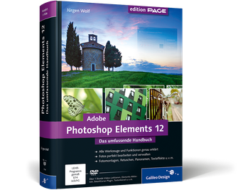 Cover von Adobe Photoshop Elements 12