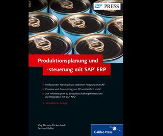 Cover von Produktionsplanung und -steuerung mit SAP ERP