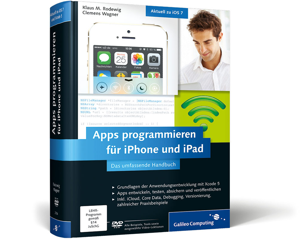 apps programmieren f r iphone und ipad das umfassende handbuch von klaus m rodewig clemens wagner. Black Bedroom Furniture Sets. Home Design Ideas