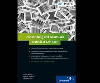 Cover von Preisfindung und Konditionstechnik in SAP ERP