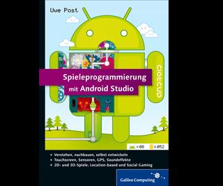 Cover von Spieleprogrammierung mit Android Studio