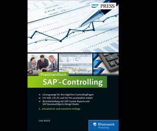 Cover von Praxishandbuch SAP-Controlling