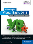 Cover von Einstieg in Visual Basic 2013