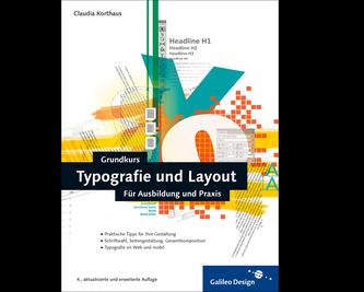 Cover von Grundkurs Typografie und Layout