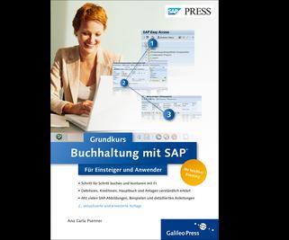 Cover von Buchhaltung mit SAP: Der Grundkurs für Einsteiger und Anwender