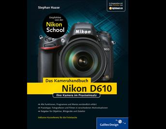 Cover von Nikon D610. Das Kamerahandbuch