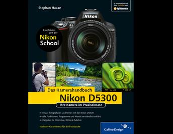 Cover von Nikon D5300. Das Kamerahandbuch