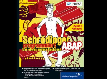 Cover von Schrödinger programmiert ABAP