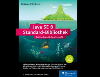 Cover von Java SE 8 Standard-Bibliothek