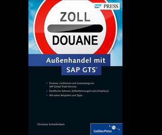 Cover von Außenhandel mit SAP GTS
