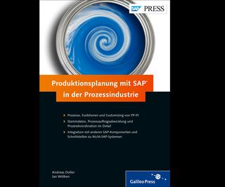 Cover von Produktionsplanung mit SAP in der Prozessindustrie