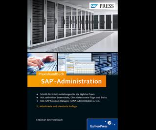 Cover von Praxishandbuch SAP-Administration