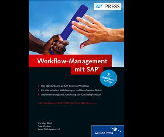 Cover von Workflow-Management mit SAP