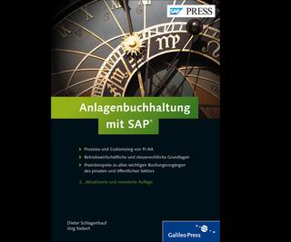 Cover von Anlagenbuchhaltung mit SAP