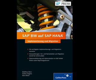 Cover von SAP BW auf SAP HANA