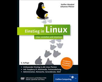Cover von Einstieg in Linux