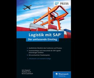 Cover von Logistik mit SAP