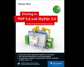 Cover von Einstieg in PHP 5.6 und MySQL 5.6