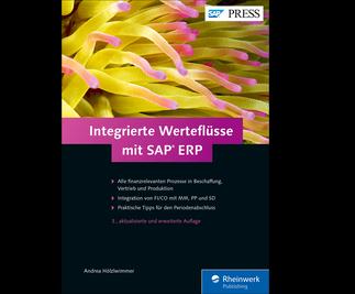 Cover von Integrierte Werteflüsse mit SAP ERP
