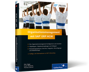 Cover von Organisationsmanagement mit SAP ERP HCM