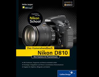 Cover von Nikon D810. Das Kamerahandbuch