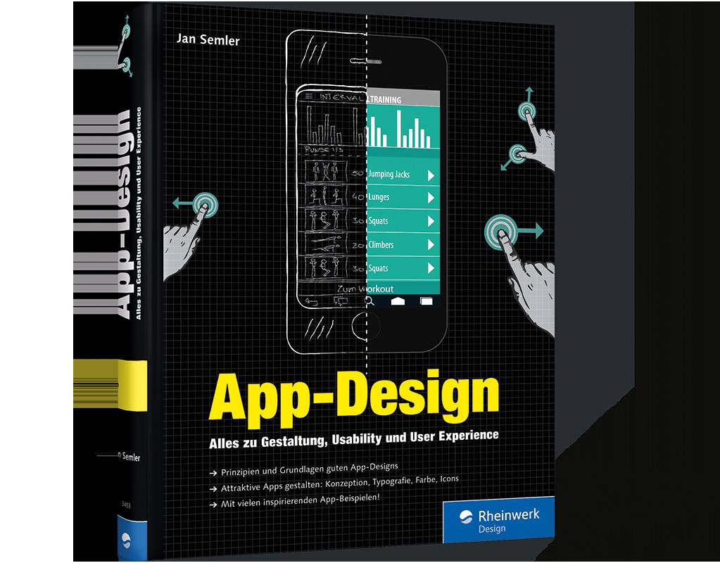 app-design. alles zu gestaltung, usability und user experience